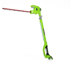 Taille-haie téléscopique Greenworks Tools